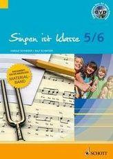 5./6. Schuljahr, Materialband m. DVD
