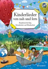 Kinderlieder von nah und fern, m. Audio-CD