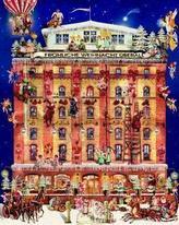 Ein Haus im Weihnachtstraum