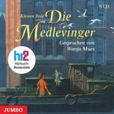 Die Medlevinger, 8 Audio-CDs. Tl.1-8