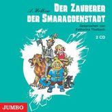 Der Zauberer der Smaragdenstadt, 2 Audio-CDs