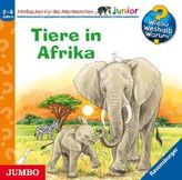 Tiere in Afrika, 1 Audio-CD