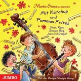 Mit Ketchup und Pommes Frites, 1 Audio-CD