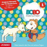 Die ersten Abenteuer von Bobo Siebenschläfer, Audio-CD. Tl.1