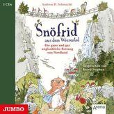 Snöfrid aus dem Wiesental - Die ganz und gar unglaubliche Rettung aus Nordland, 3 Audio-CDs
