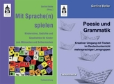 Poesie und Grammatik. Mit Sprache(n) spielen, 2 Bde.