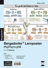 Lernposter Mathematik 1.-4.Klasse