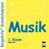 Musik, 1. Klasse, 2 Audio-CDs