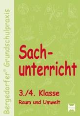 Sachunterricht, 3./4. Klasse, Raum und Umwelt