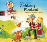 Mika, der Wikinger - Achtung Piraten!, 1 Audio-CD