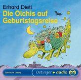Die Olchis auf Geburtstagsreise, Audio-CD