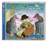 Die Olchis und die Gully-Detektive von London, 2 Audio-CDs