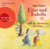 Eliot und Isabella und die Abenteuer am Fluss, 1 Audio-CD