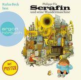 Serafin und seine Wundermaschine, 1 Audio-CD