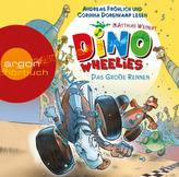 Dino Wheelies - Das große Rennen,1  Audio-CD