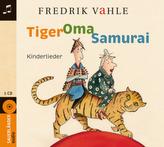Tiger Oma Samurai, Audio-CD