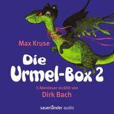 Die Urmel-Box, 6 Audio-CDs. Tl.2
