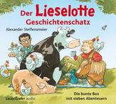 Der Lieselotte Geschichtenschatz, 2 Audio-CDs