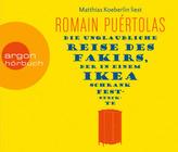 Die unglaubliche Reise des Fakirs, der in einem Ikea-Schrank feststeckte, 5 Audio-CDs