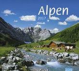 Alpen Bildkalender 2017
