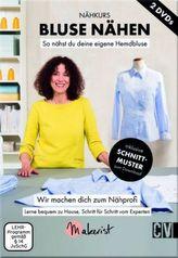 Bluse Nähen - Nähkurs, 2 DVDs