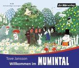 Willkommen im Mumintal, 4 Audio-CDs
