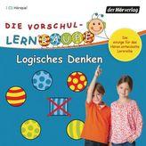 Die Vorschul-Lernraupe - Logisches Denken, 1 Audio-CD