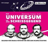 Das Universum ist eine Scheißgegend, 4 Audio-CDs