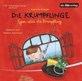 Die Krumpflinge - Egon rettet die Krumpfburg, 1 Audio-CD