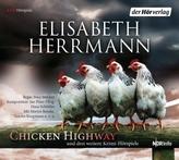 CHICKEN HIGHWAY und drei weitere Krimi-Hörspiele, 4 Audio-CDs