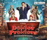 Doktor Proktors Zeitbadewanne, 4 Audio-CDs
