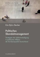 Politisches Skandalmanagement