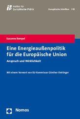 Eine Energieaußenpolitik für die Europäische Union