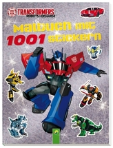 Transformers- Malbuch mit 1001 Stickern