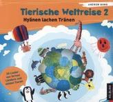 Tierische Weltreise, Lieder-Audio-CD. Tl.2