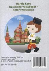 Russische Volkslieder - sofort verstehen, 1 DVD-ROM
