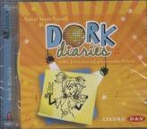 Dork Diaries - Nikkis (nicht ganz so) phänomenaler Auftritt, 2 Audio-CDs