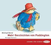 Mehr Geschichten von Paddington, 2 Audio-CDs
