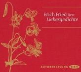 Erich Fried liest Liebesgedichte, 1 Audio-CD