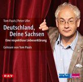 Deutschland, Deine Sachsen, 2 Audio-CDs