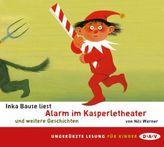 Alarm im Kasperletheater und weitere Geschichten, Audio-CD