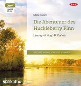Die Abenteuer des Huckleberry Finn, 1 MP3-CD