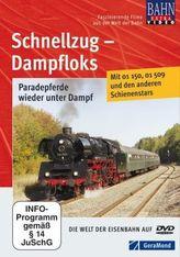 Schnellzug-Dampfloks, DVD