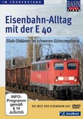 Eisenbahn-Alltag mit der E 40, DVD