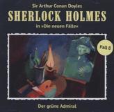 Sherlock Holmes - Der grüne Admiral, Audio-CD