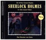 Sherlock Holmes, Das Monster von Soho, 1 Audio-CD