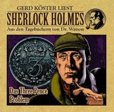 Sherlock Holmes - Aus den Tagebüchern von Dr. Watson - Das Three Pence Problem, 1 Audio-CD