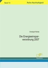 Die Energieeinsparverordnung 2007