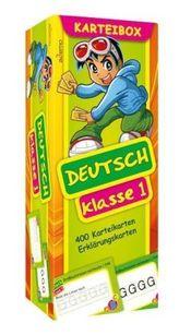 Karteibox Deutsch Klasse 1