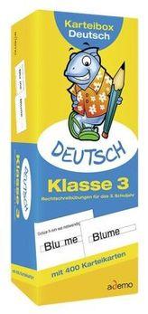 Karteibox Deutsch, Klasse 3